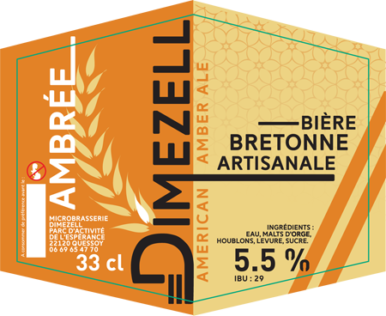 Dimezell Ambrée American Amber Ale