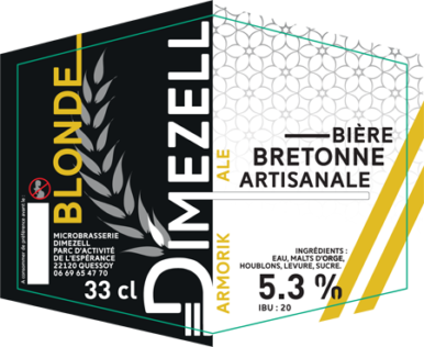 Dimezell Blonde Armorik Ale