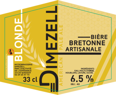 Dimezell blonde Pale Ale