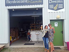 Dégustation de bière à la Brasserie Dimezell